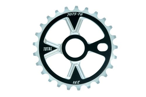 Total BMX Victory Sprocket - Black/Silver 28 Tooth